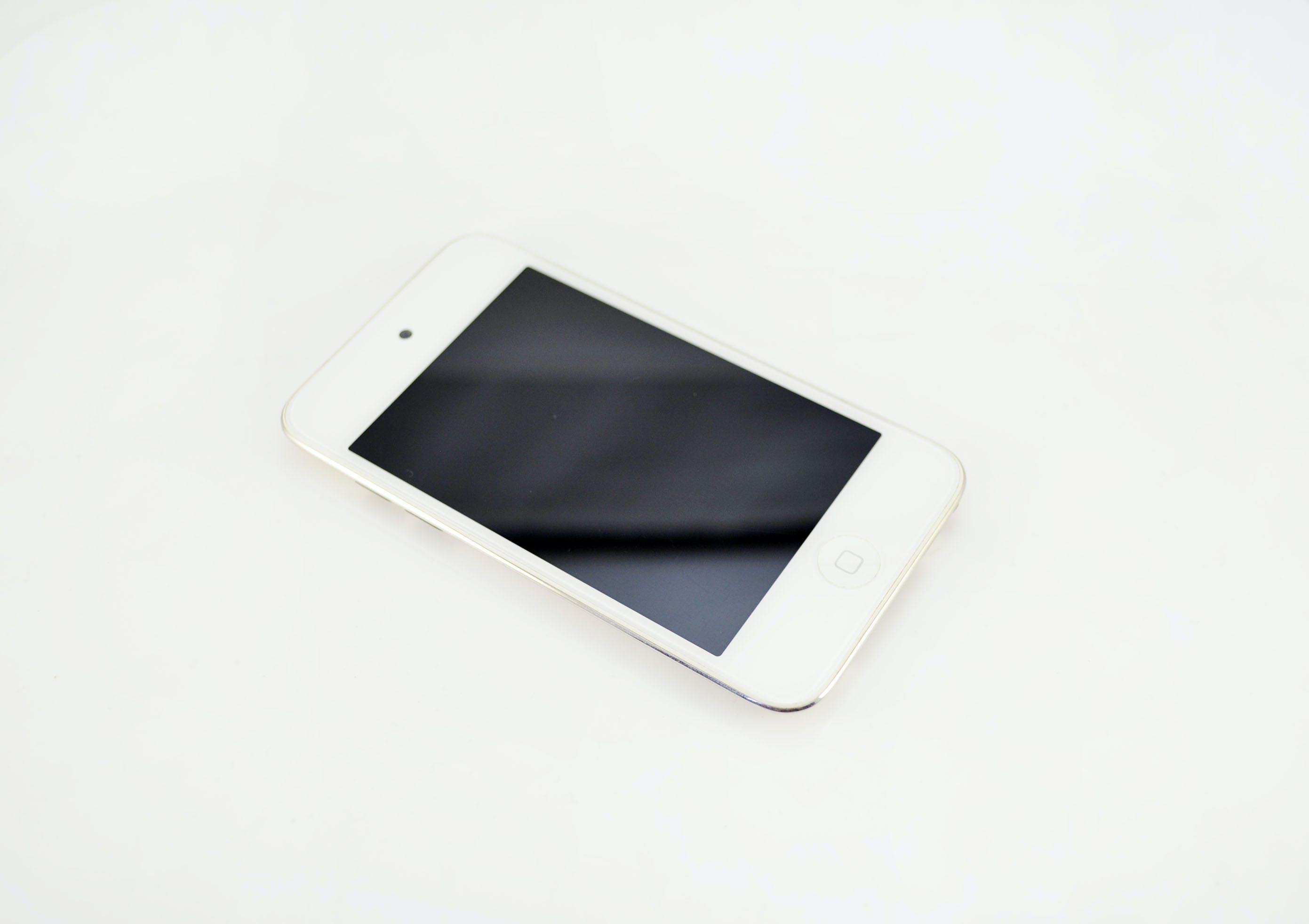 Gratis lagerfoto af Apple, hvid baggrund, hvid iphone, iPhone