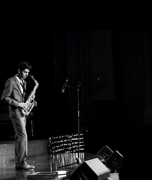 Бесплатное стоковое фото с белый, джаз, живая музыка, закрывать