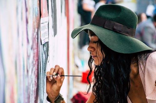 그래피티, 그림, 붓, 사람의 무료 스톡 사진