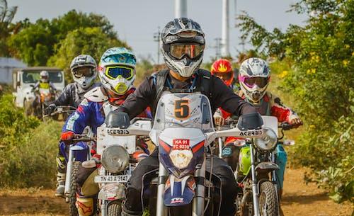 Δωρεάν στοκ φωτογραφιών με dirtbiker, motocross, αγώνας δρόμου, αγώνες