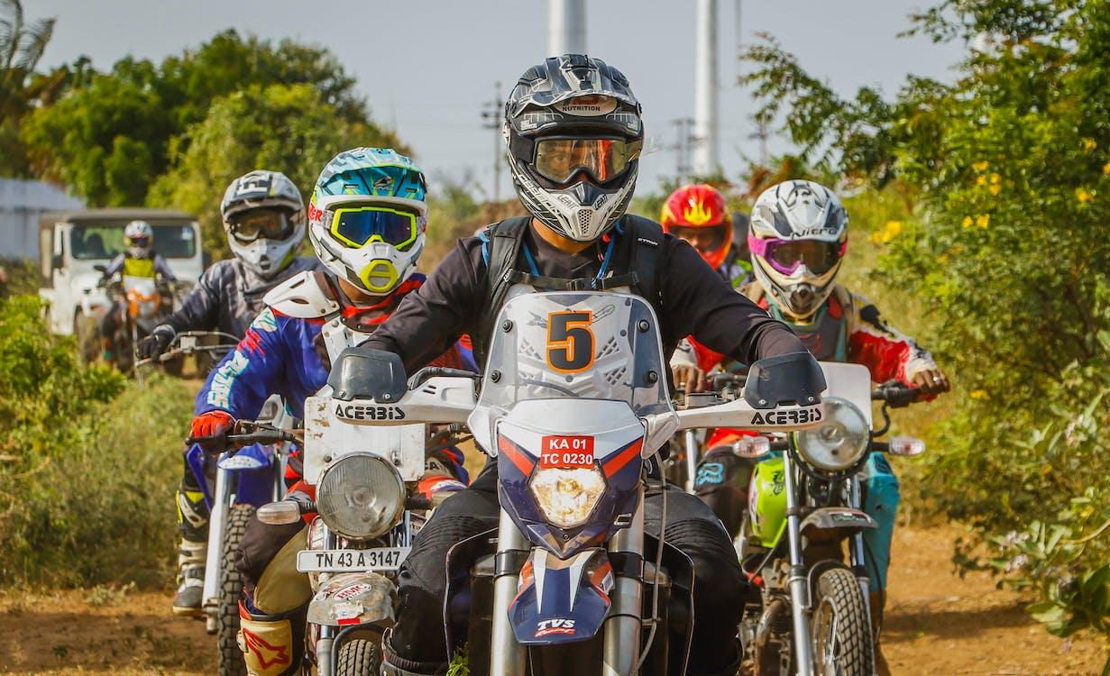 coureur, Dirtbiker, motorcross