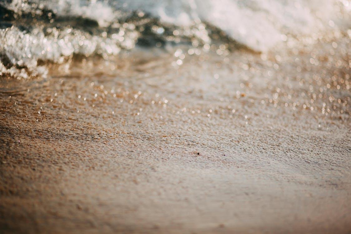 close-up, detailopname, golven