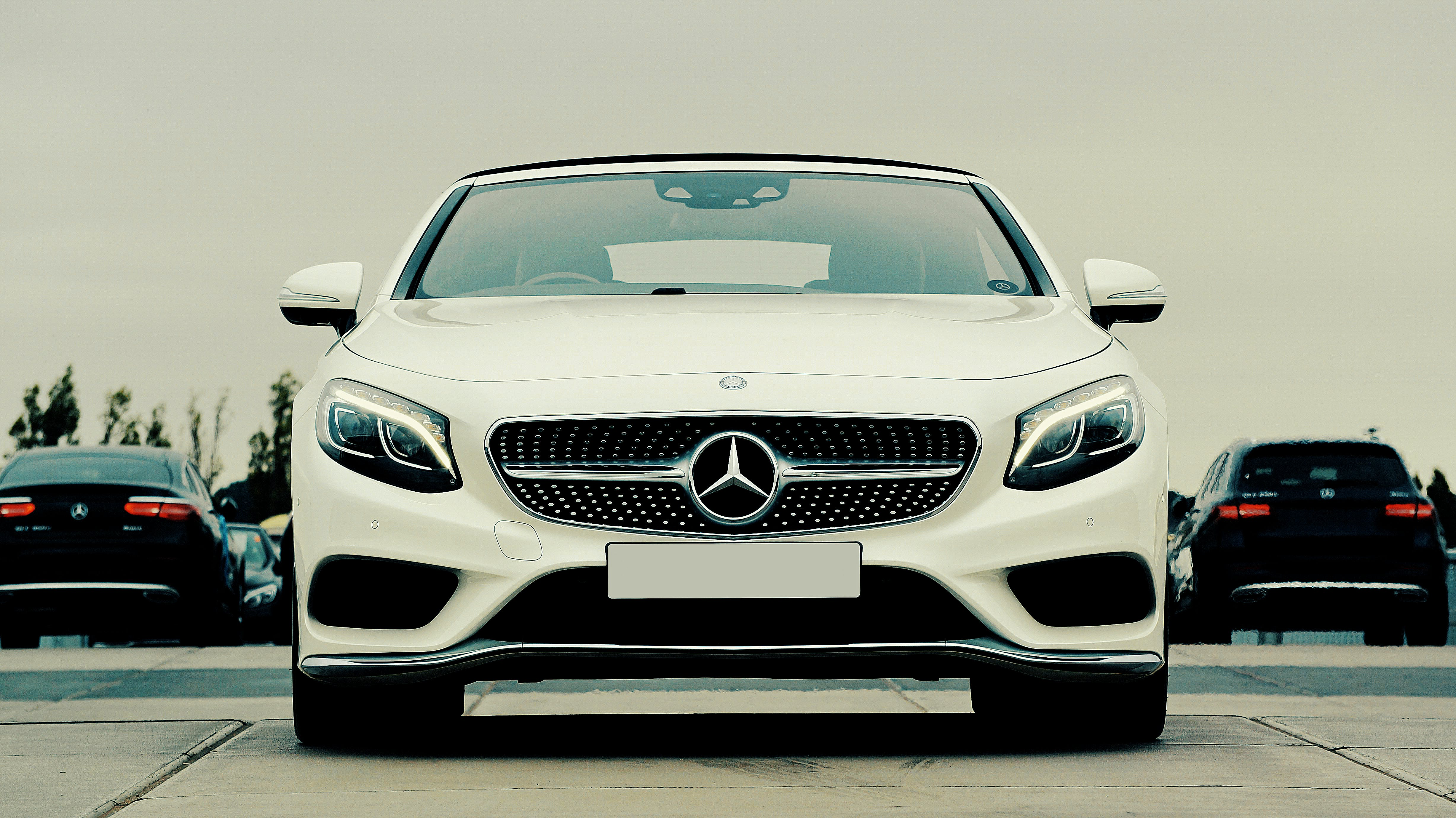 Free stock photo of car, convertible, mercedes-benz, powerful