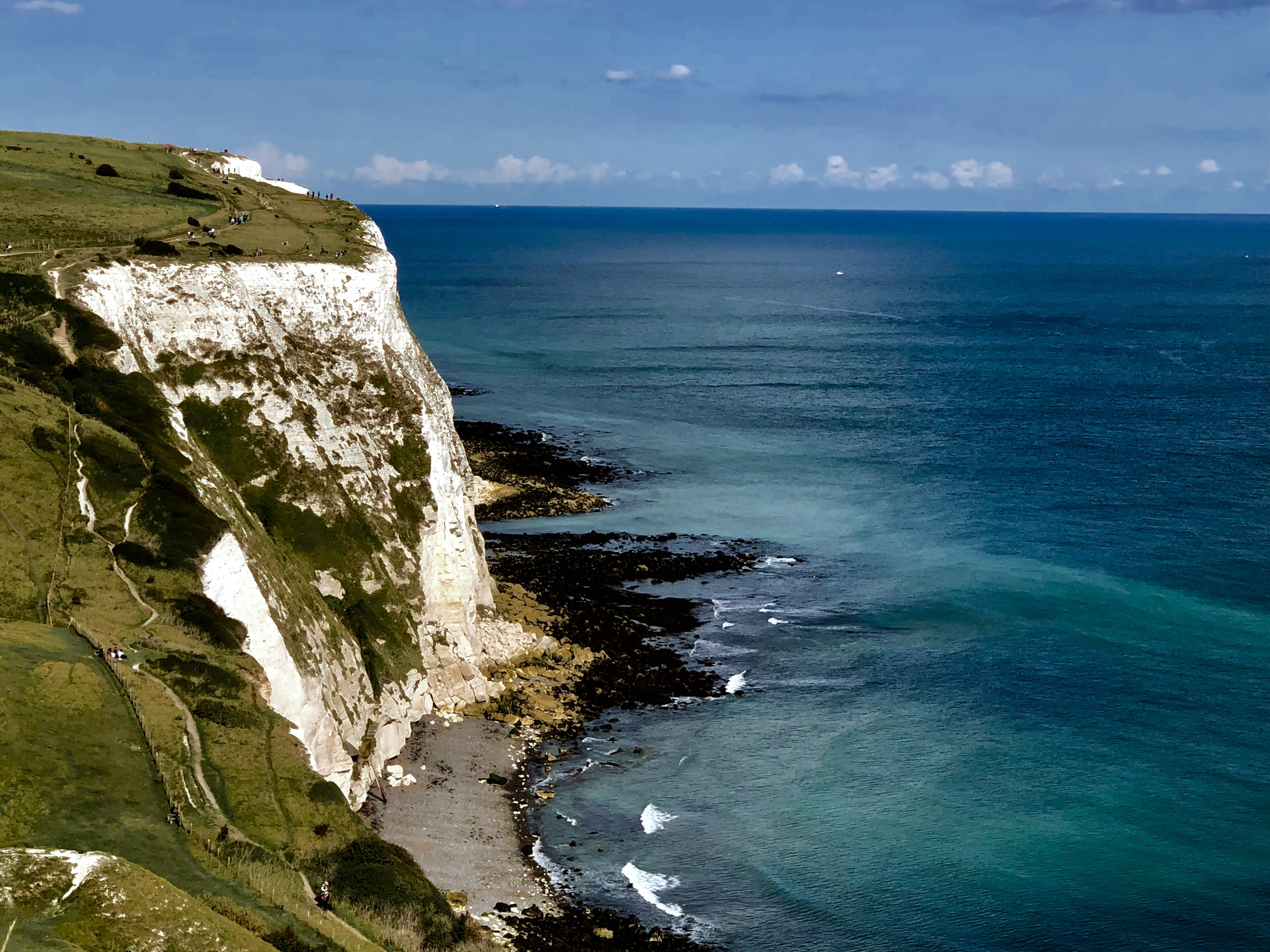 Free stock photo of cliff, dover, england, landscape