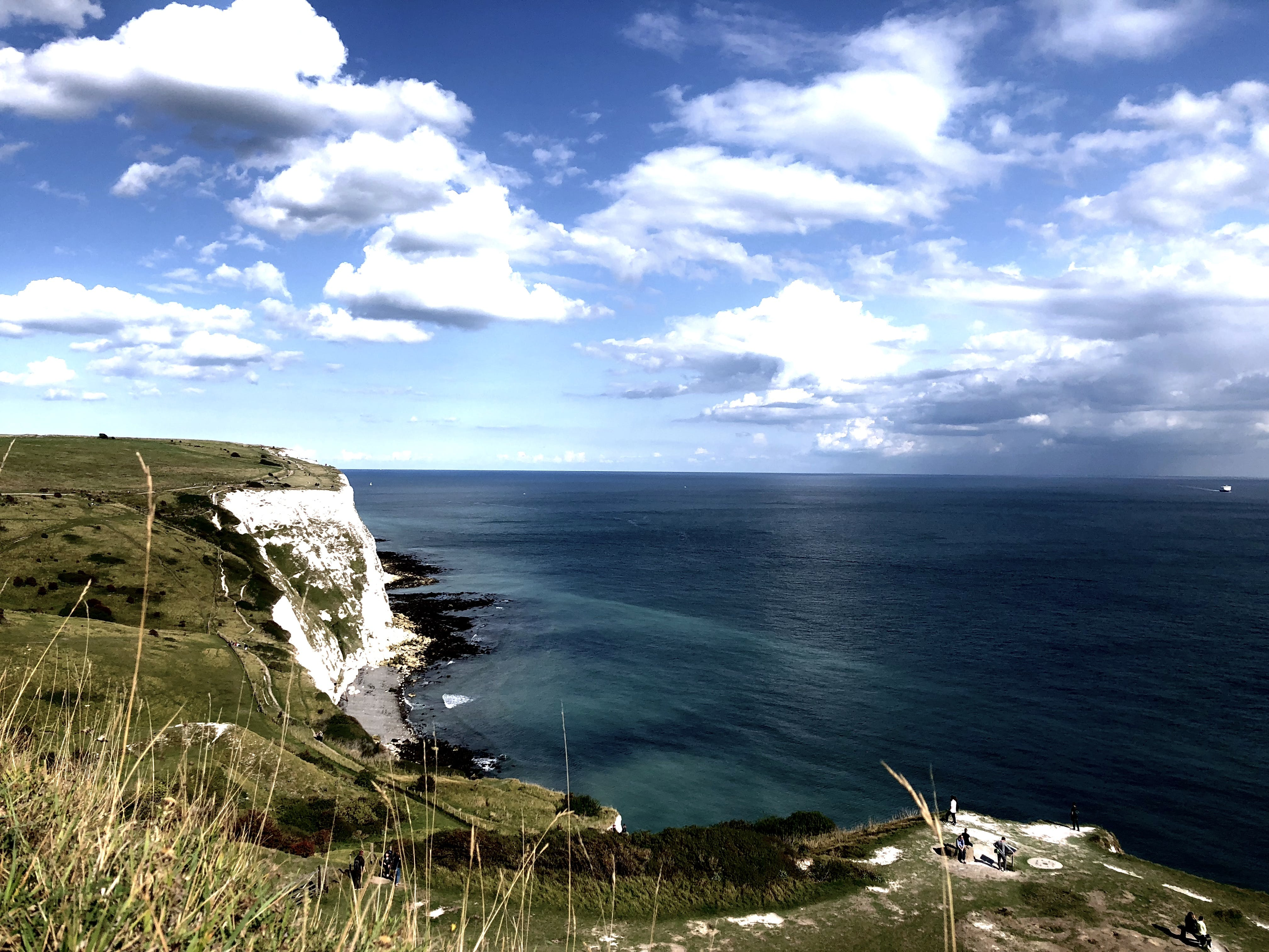 Free stock photo of beach, cliff, clouds, dover