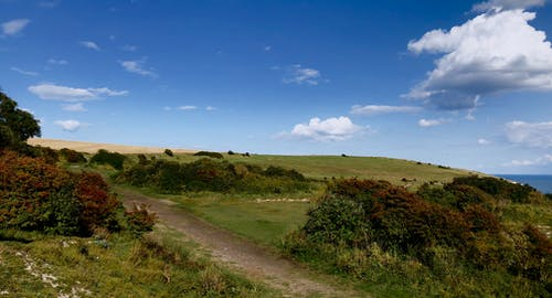 Základová fotografie zdarma na téma Anglie, dover, hřiště, krajina