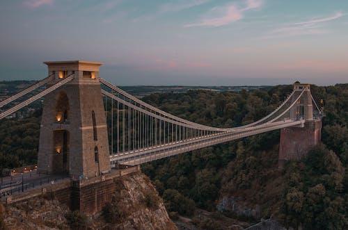 Gratis arkivbilde med bro, by, solnedgang, Storbritannia