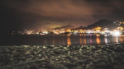 Fotobanka sbezplatnými fotkami na tému člny, dedina, dlhá expozícia, karibský