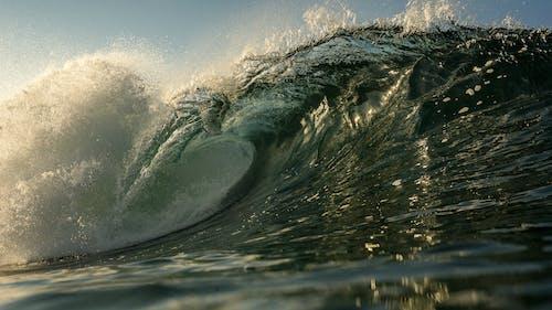 冷, 水, 海, 海景 的 免費圖庫相片