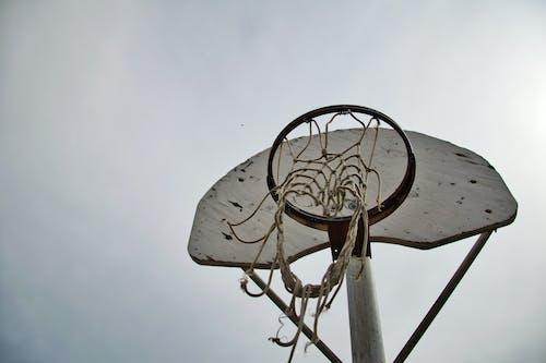 Fotobanka sbezplatnými fotkami na tému basketbalový kôš, denné svetlo, exteriéry, nízkouhlá fotografia