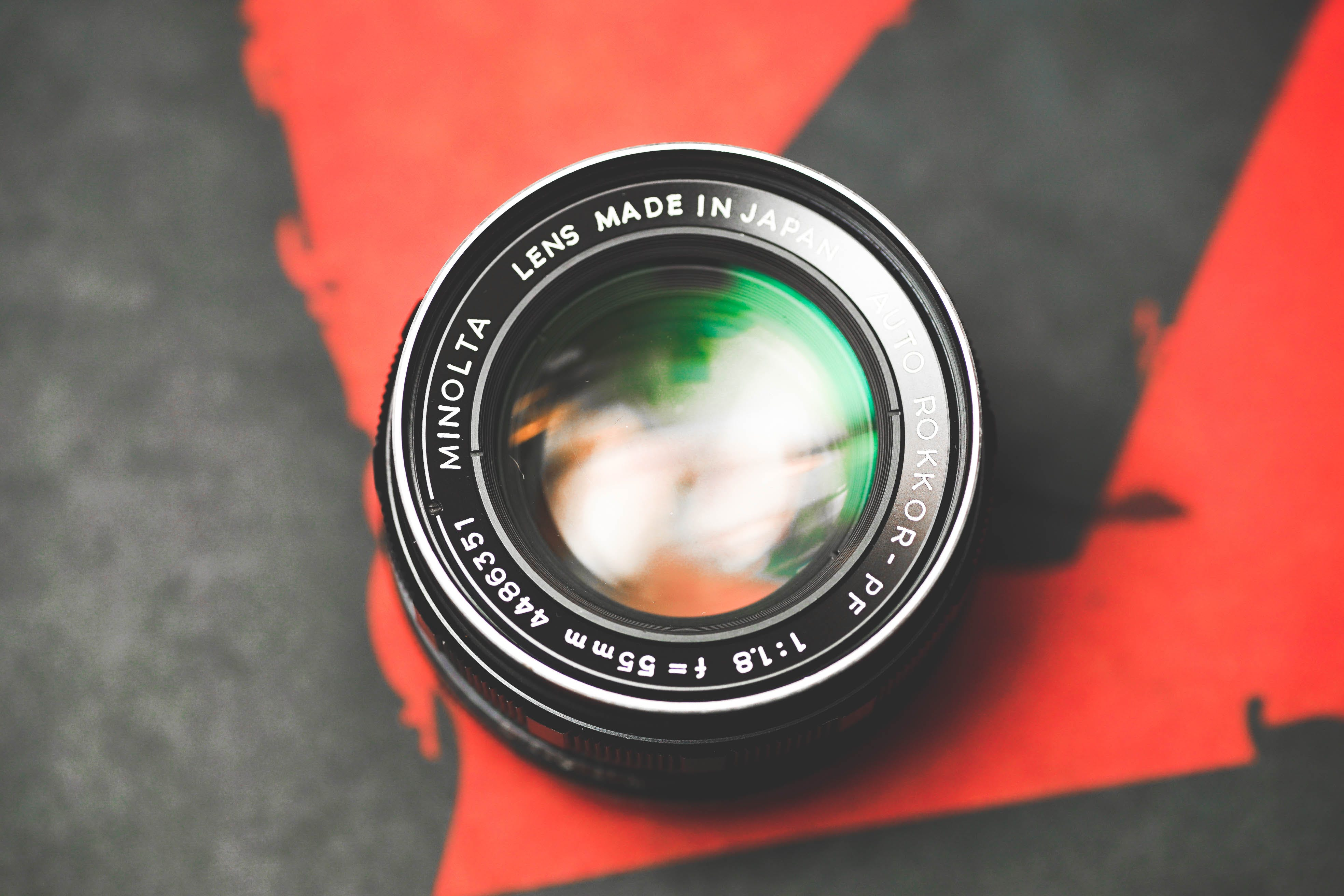 Shallow Focus Photography of Camera Lens