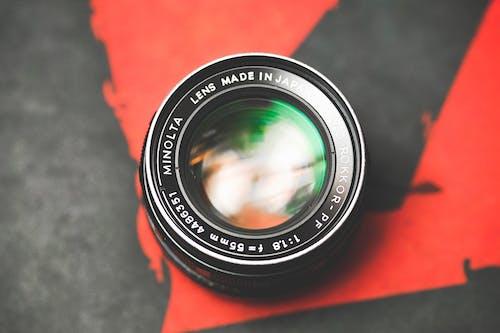 Бесплатное стоковое фото с minolta, винтажная камера, Диафрагма, затвор