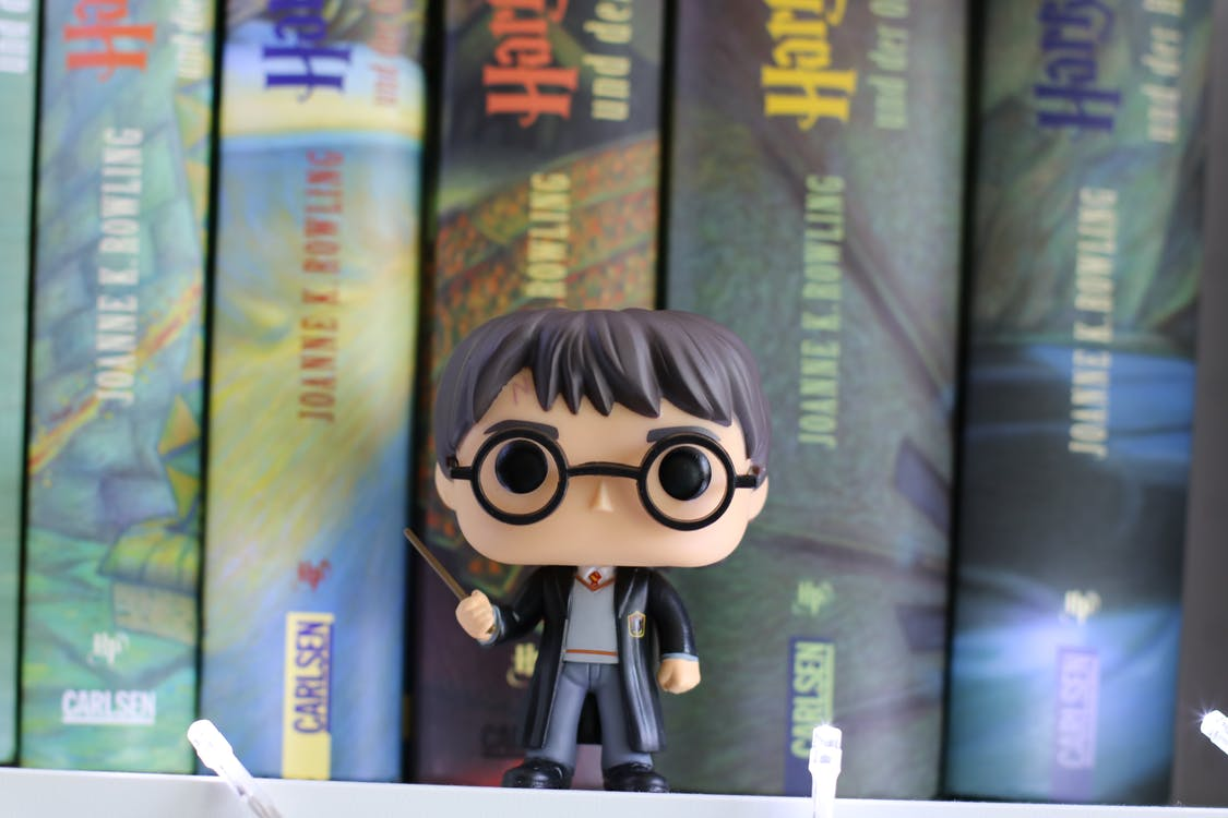 Fotos de stock gratuitas de estante con libros, foto macro, harry potter