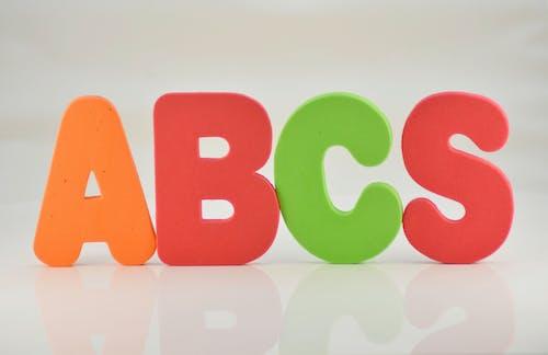 Ingyenes stockfotó ABC, hab betűk, iskola, oktatás témában