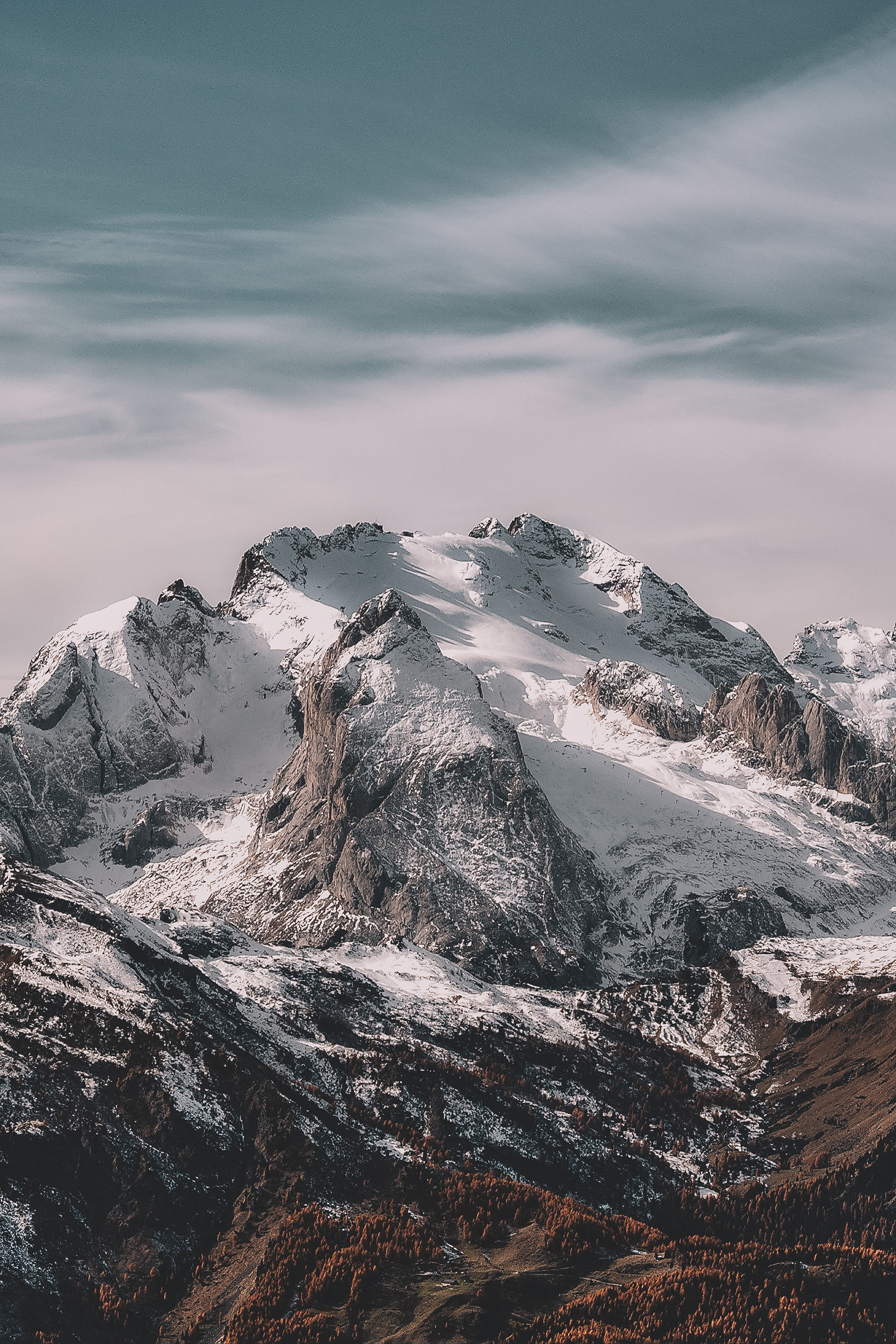 Landscape Photography Of Snowy Mountain Free Stock Photo
