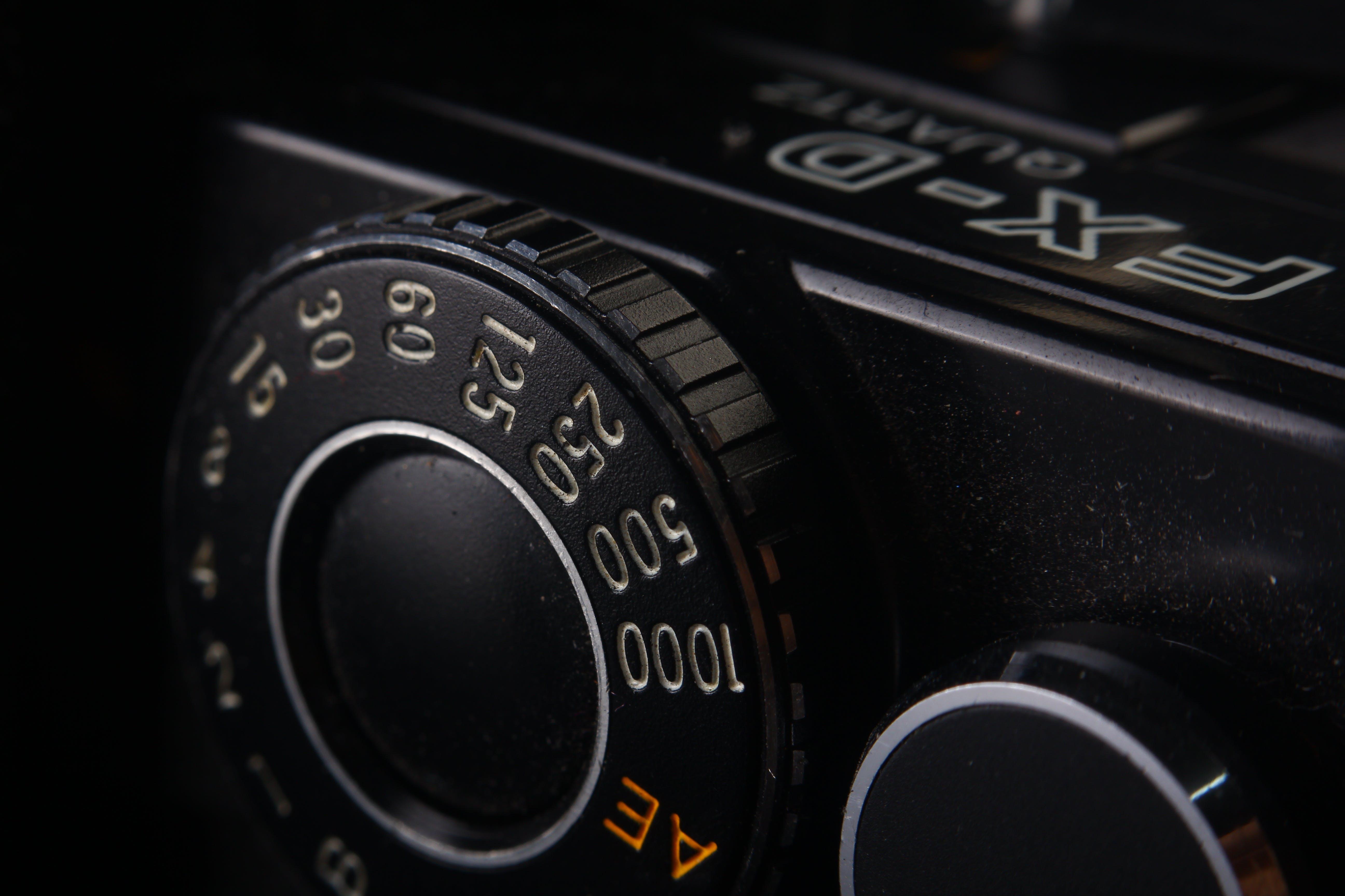 Close-up Photo of Camera Knob