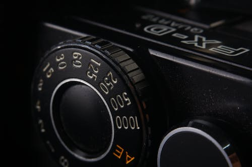 Close-up Photo of Camera Knob