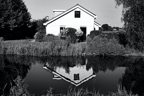 House on Riverbank