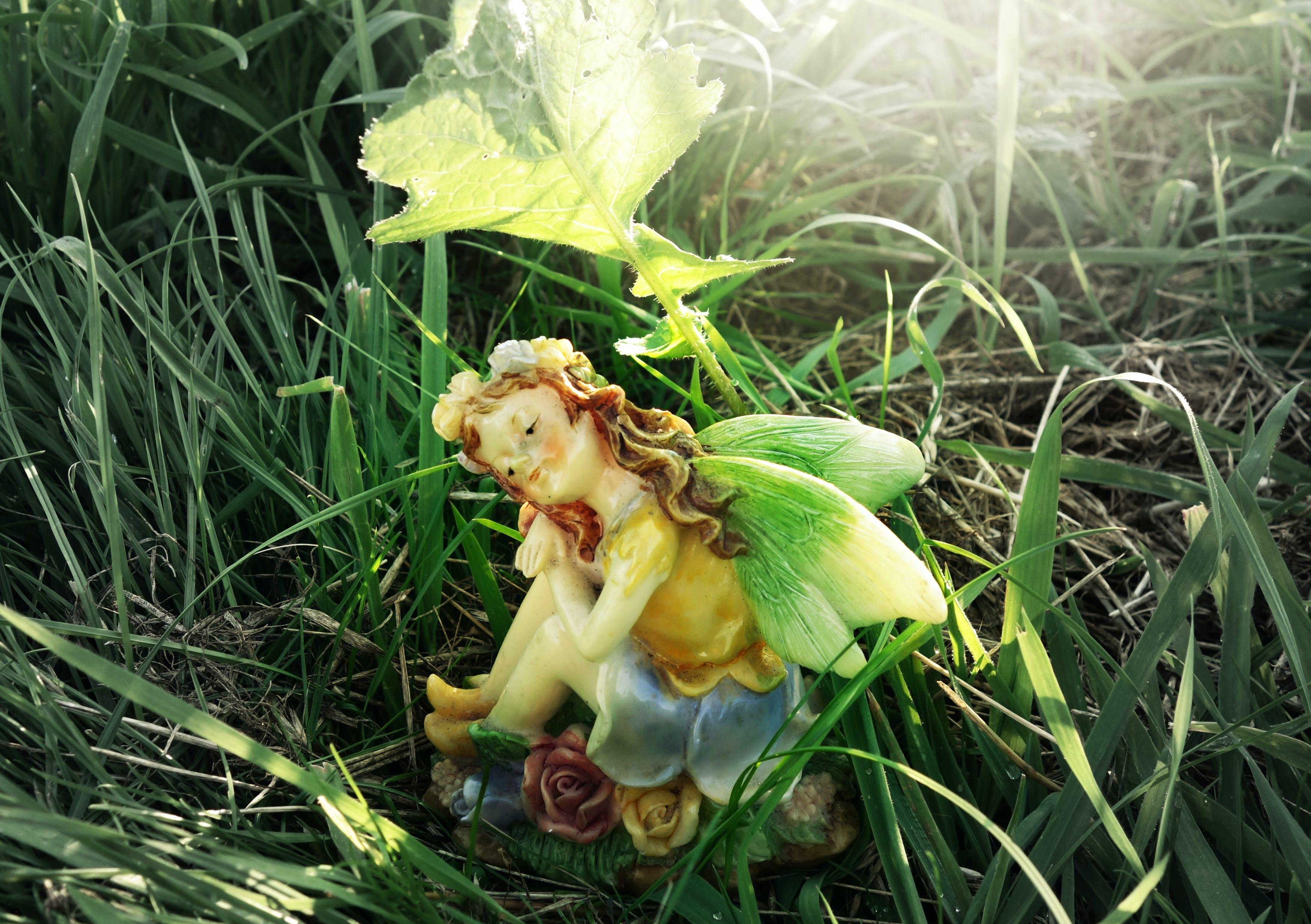 Free stock photo of fairy, magic, fantasy, statuette