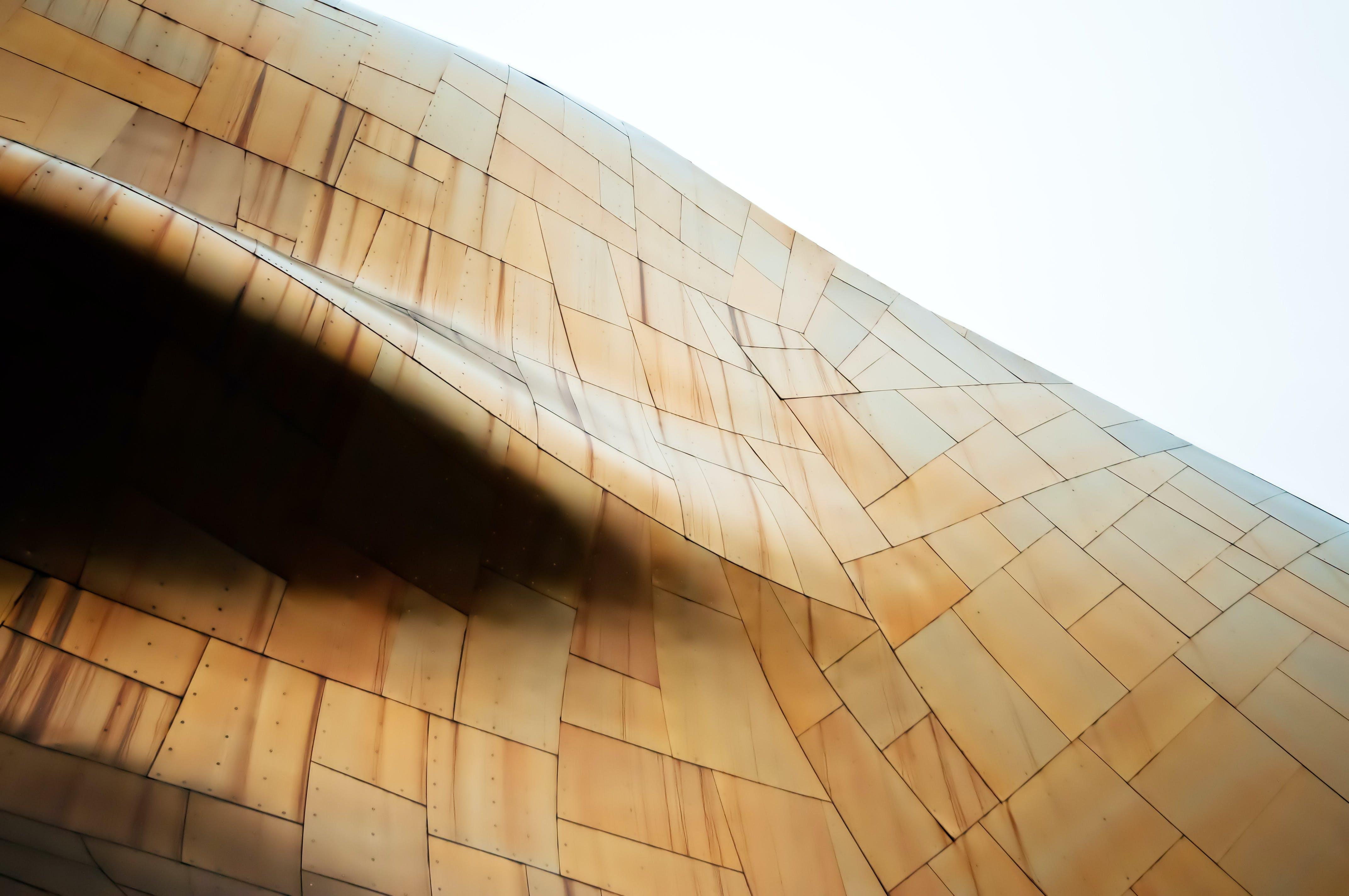Brown Geometric Wallpaper