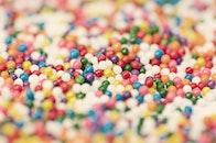 food, sugar, blur