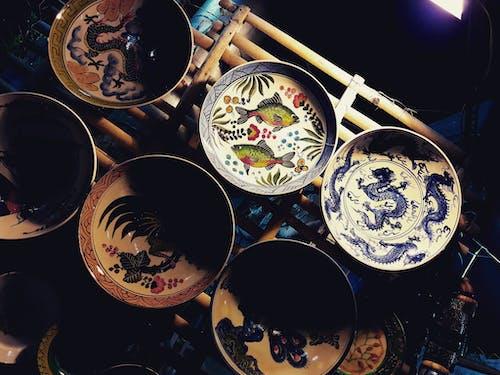 Fotobanka sbezplatnými fotkami na tému dizajn, Indonézia, keramický tanier, keramika