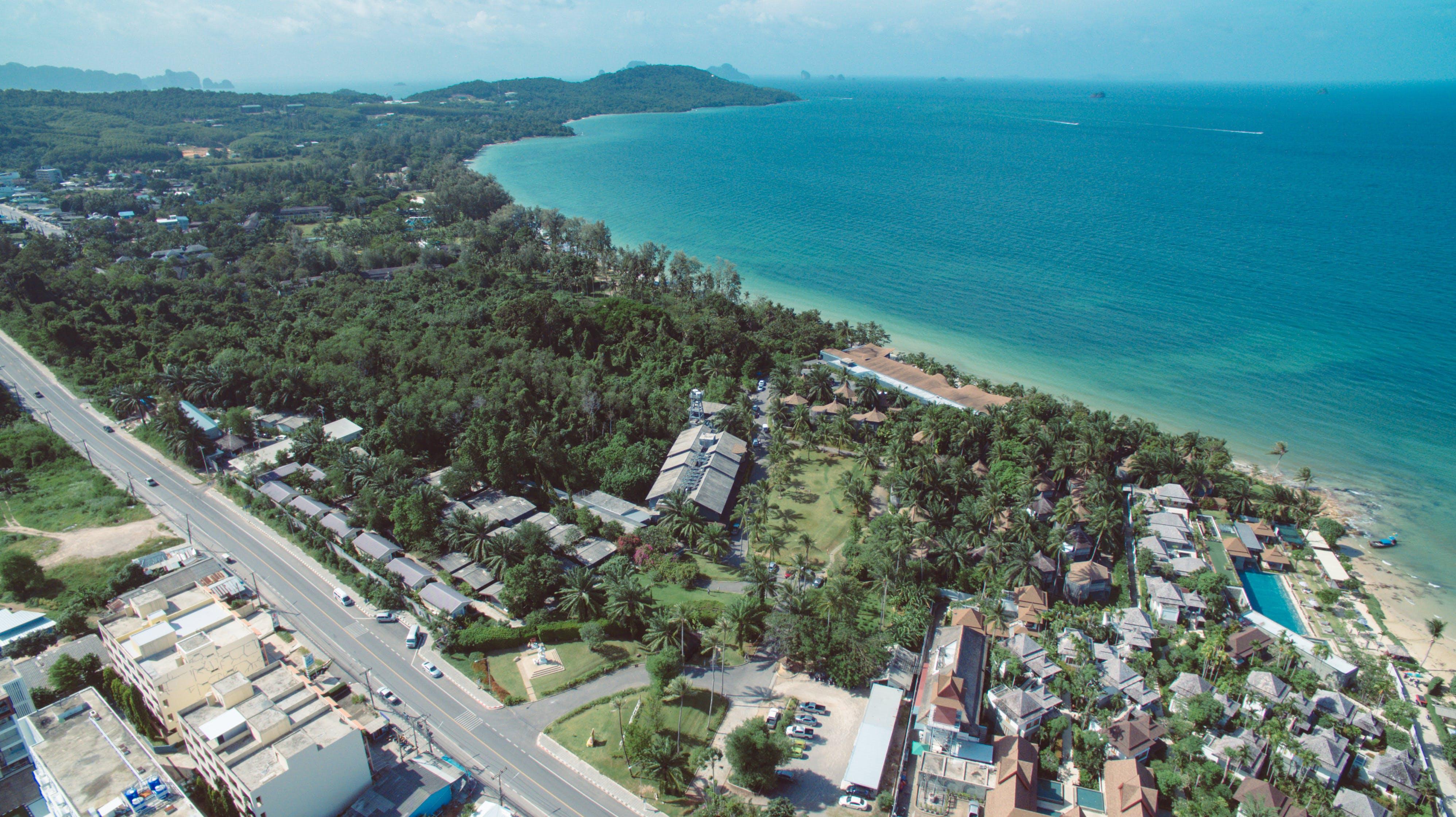 Free stock photo of beach, drone shot, Krabi, relax