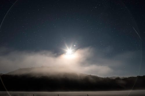 ダーク, ミスト, 夜, 星の無料の写真素材