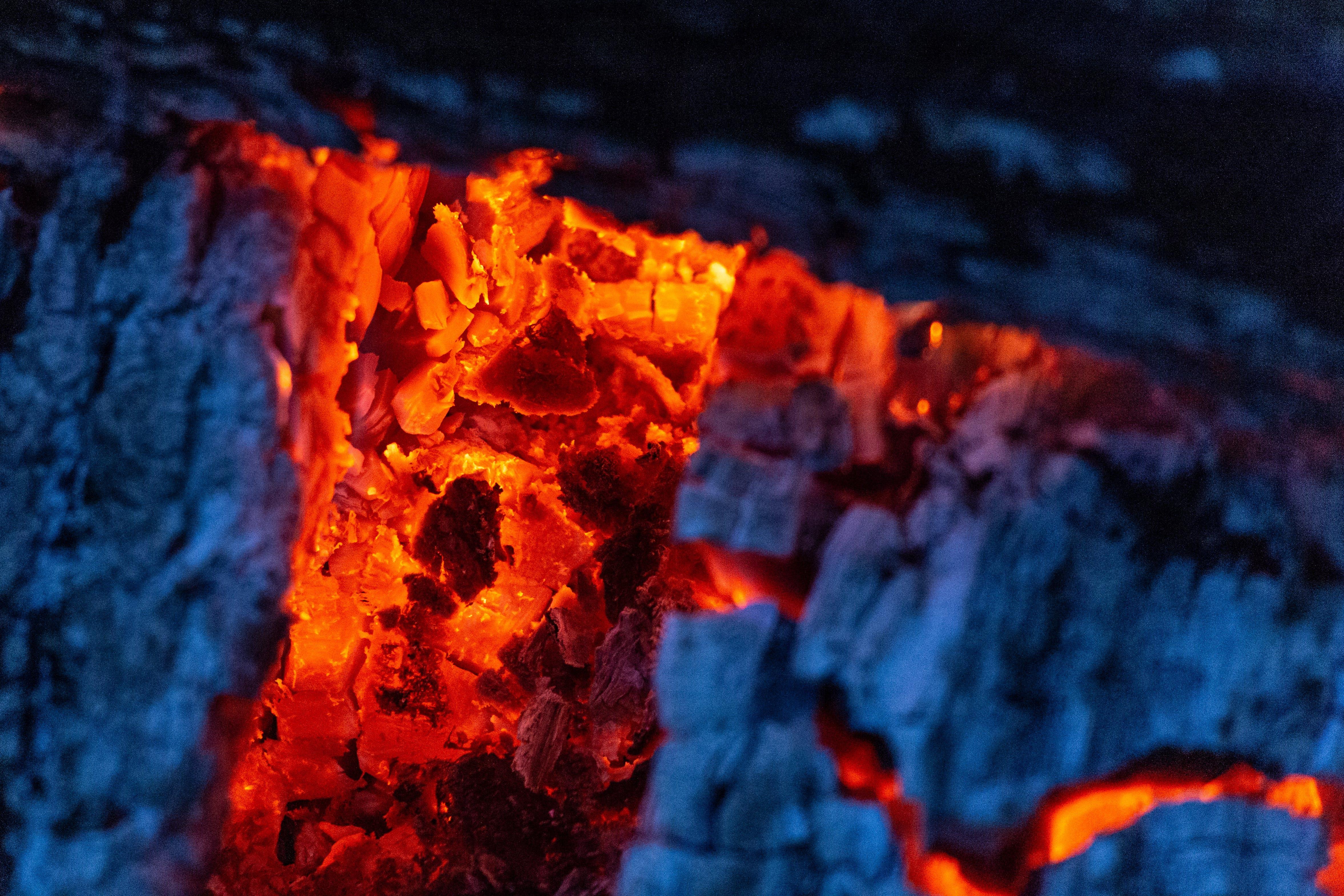 aske, brænde, brænding