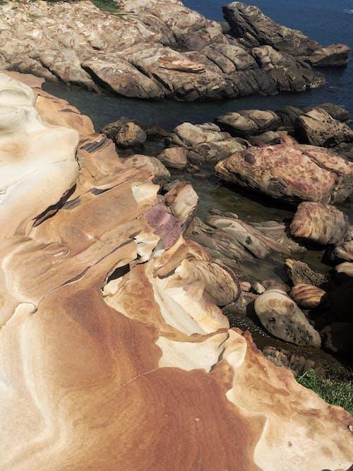 Základová fotografie zdarma na téma skalní podloží, struktura, východní čínské moře