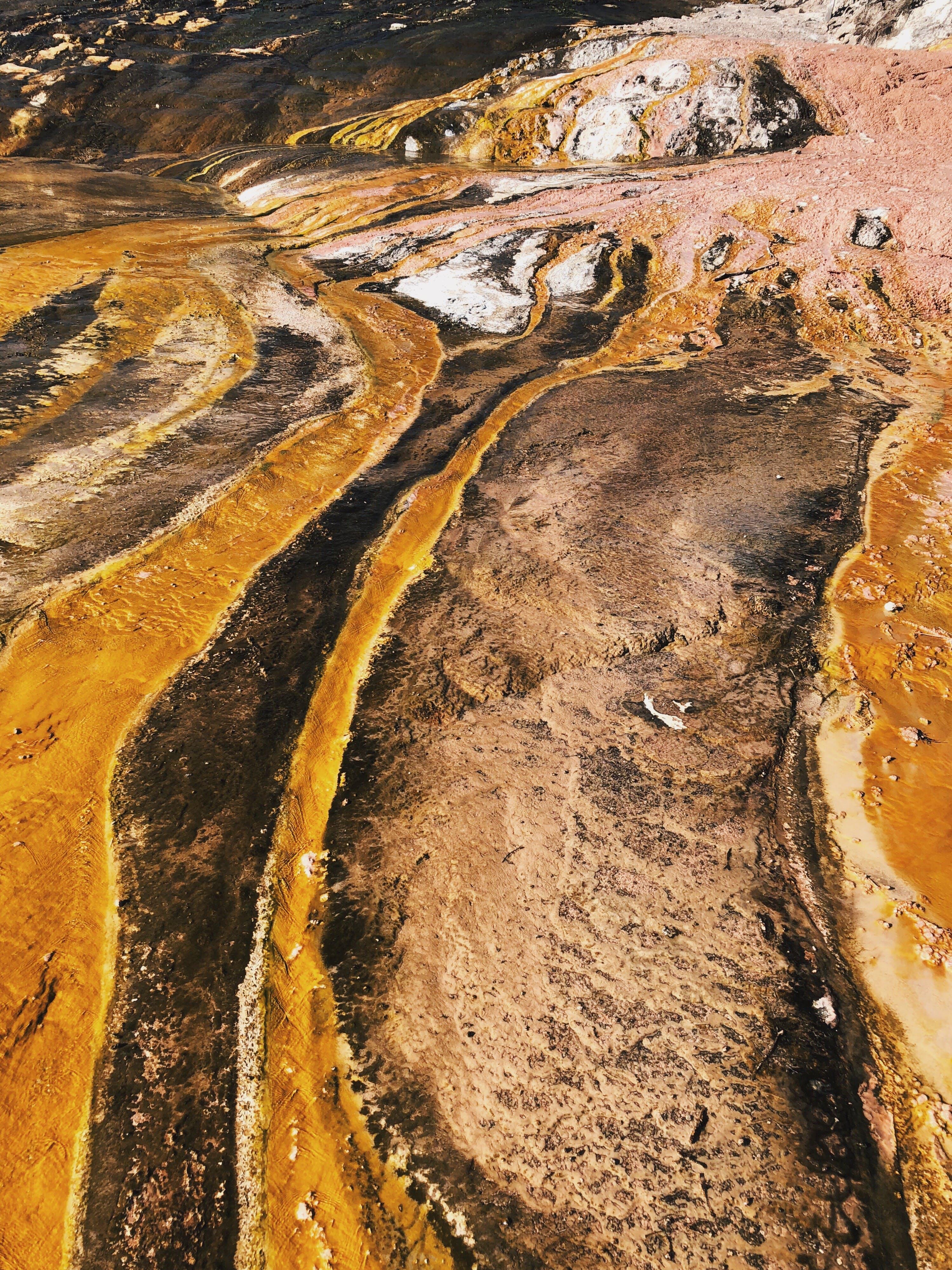 Gratis lagerfoto af damp, geologi, geotermisk, krater