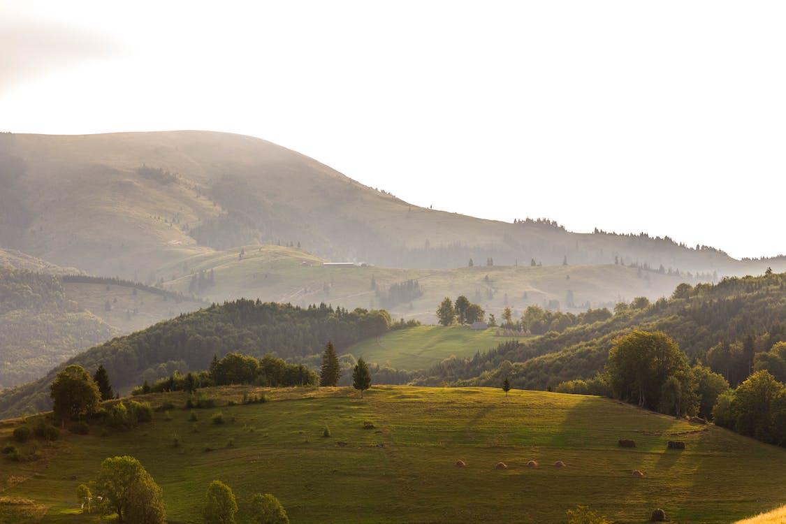 denní světlo, hora, kopec