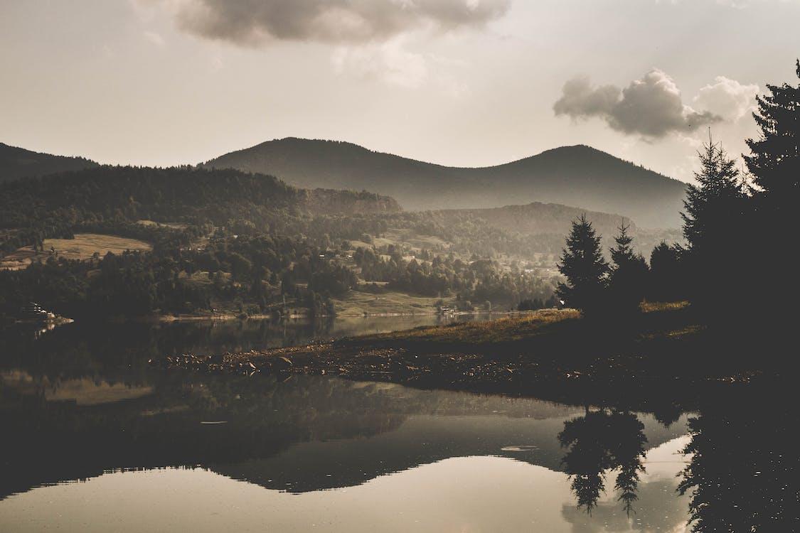 反射, 天性, 山