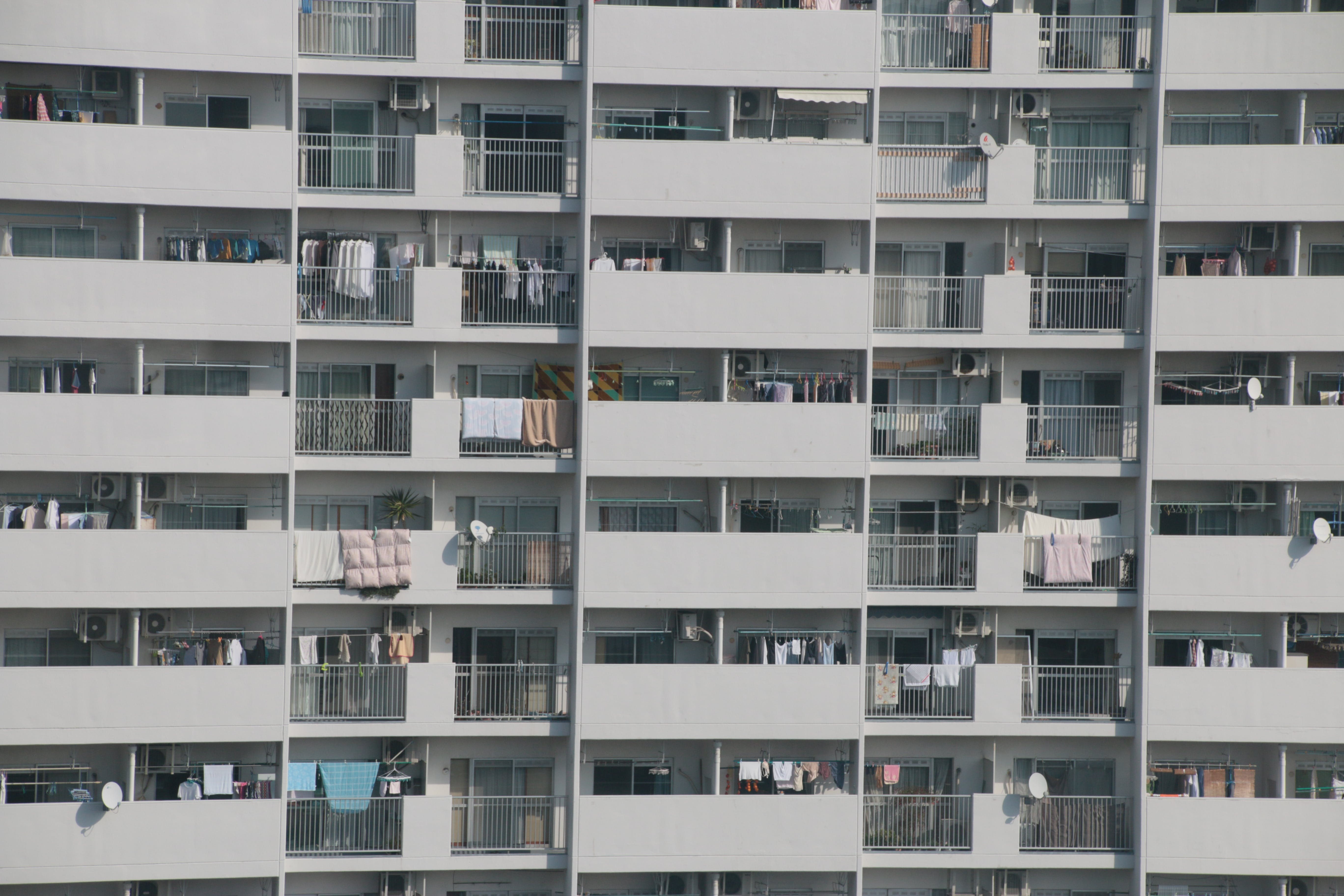 Free stock photo of apartment, city, crowd, living