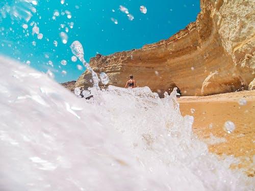 Foto stok gratis air, alam, cairan, gelombang