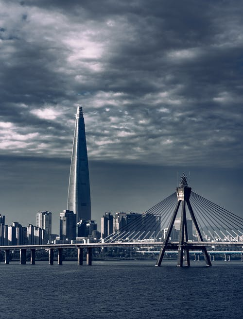 Imagine de stoc gratuită din arhitectură, centrul orașului, clădiri, Coreea de Sud