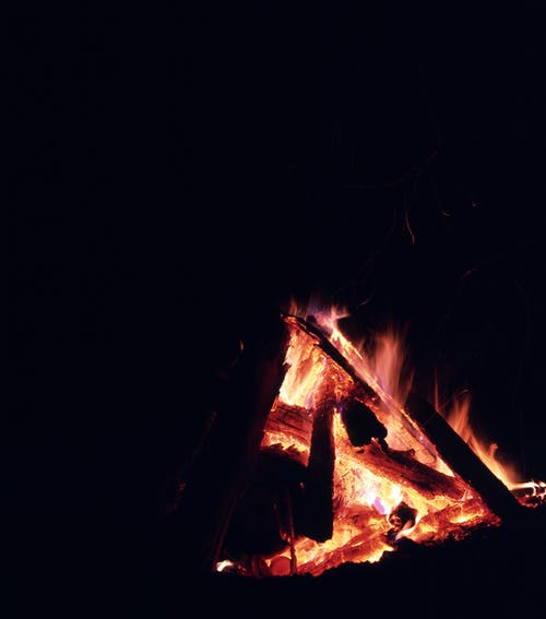 Free stock photo of bonfire, camping, fire