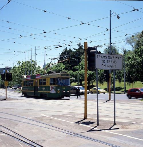 Free stock photo of public transport, public transportation, tram, tram lines