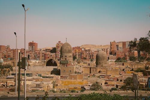 가로등 기둥, 건물, 건축, 관광의 무료 스톡 사진