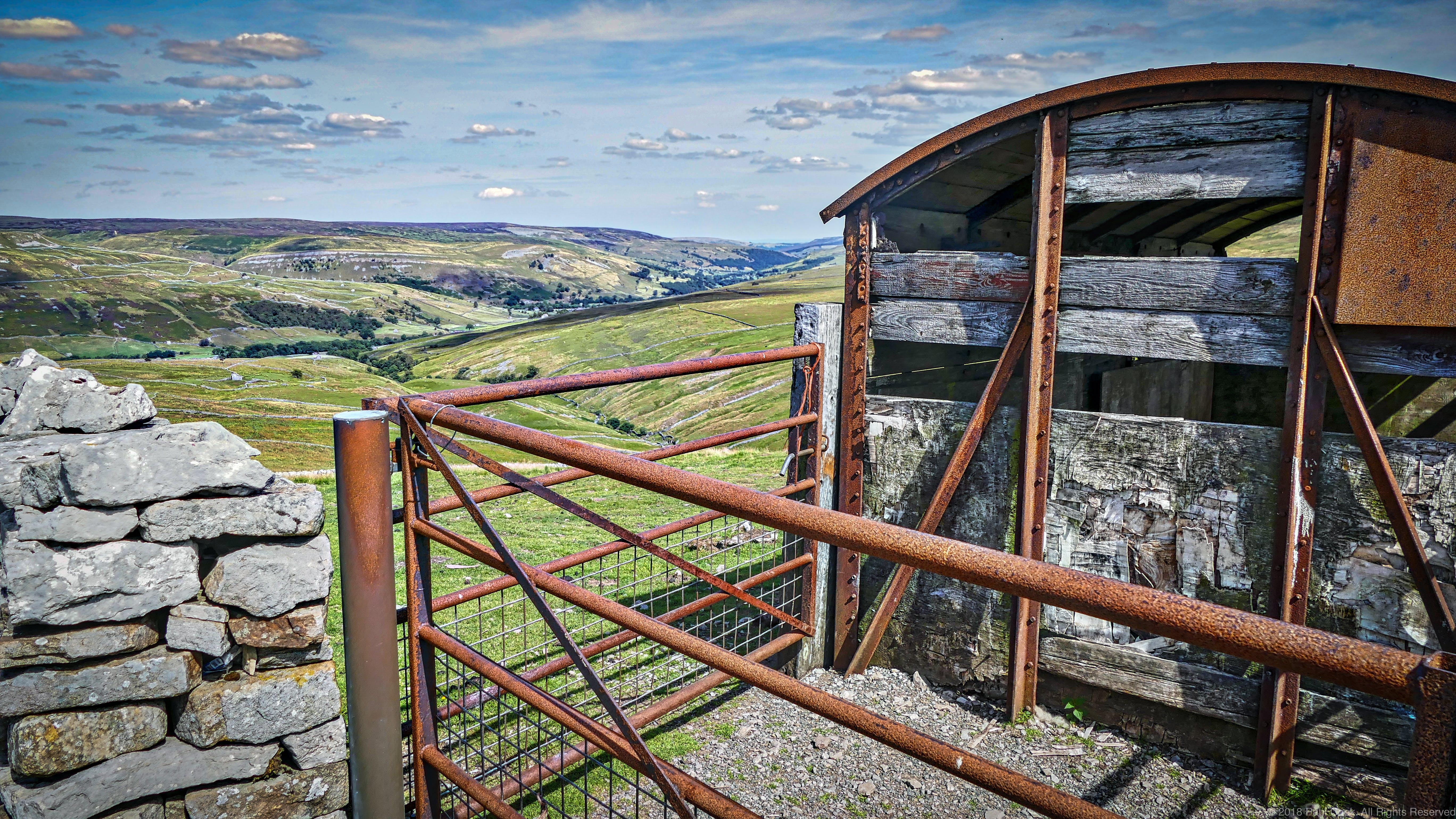 Free stock photo of buttertub pass, landscape, rusty, shed