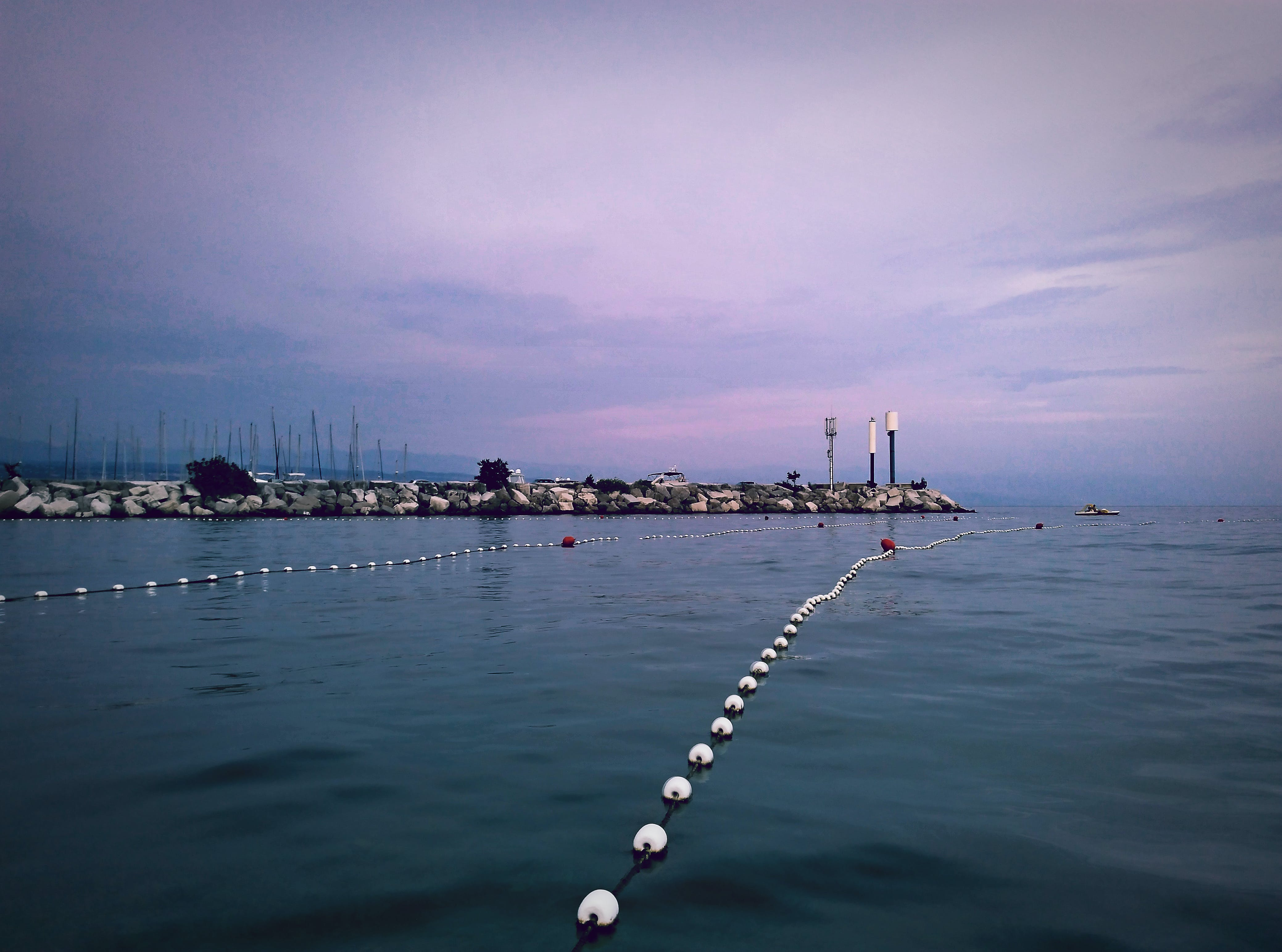 adriatic sea, blue water, calm waters