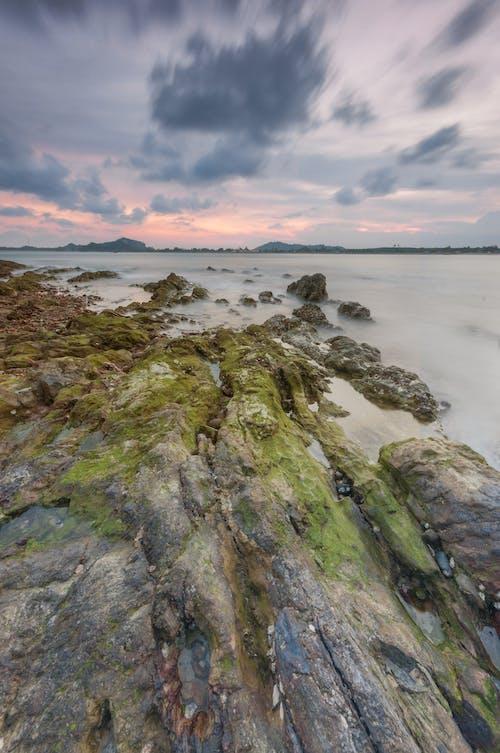 Základová fotografie zdarma na téma kameny, malebný, moře, oceán
