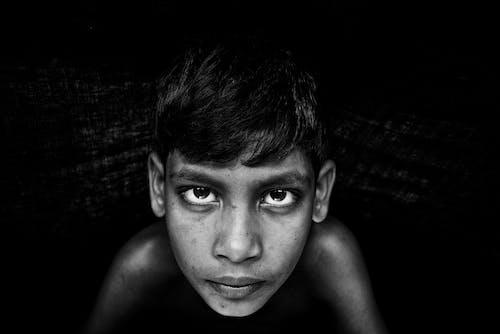 Free stock photo of black and white, boy, nikon
