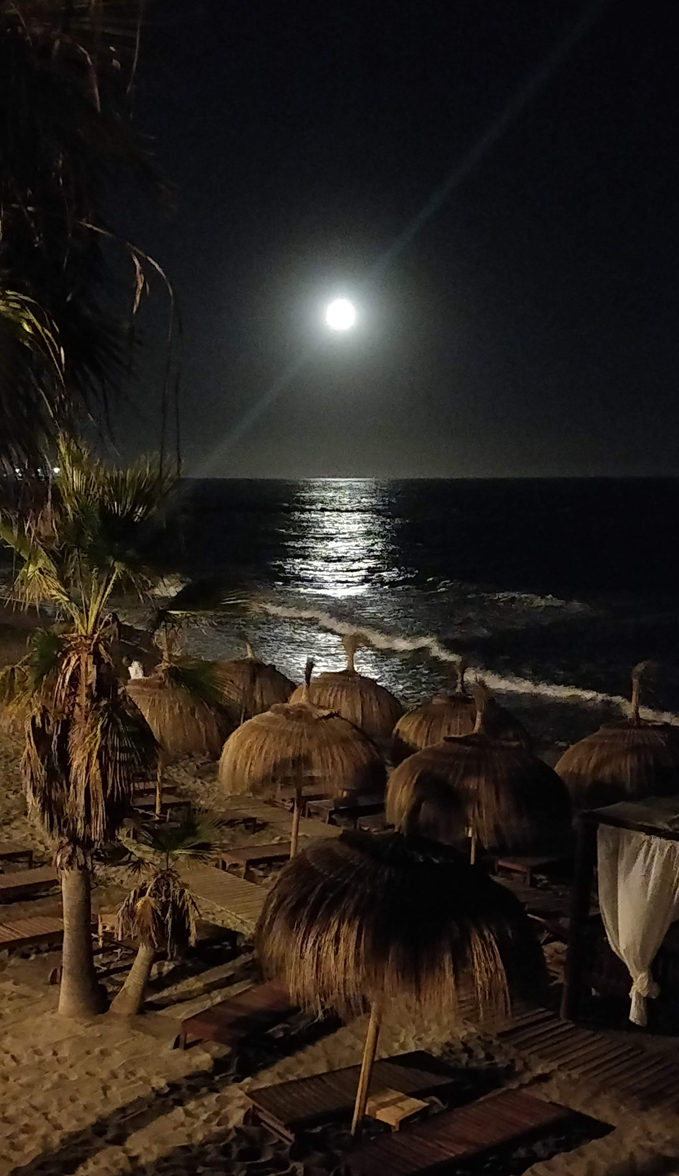 Gratis lagerfoto af fuldmåne, måne, måne landing, marbella