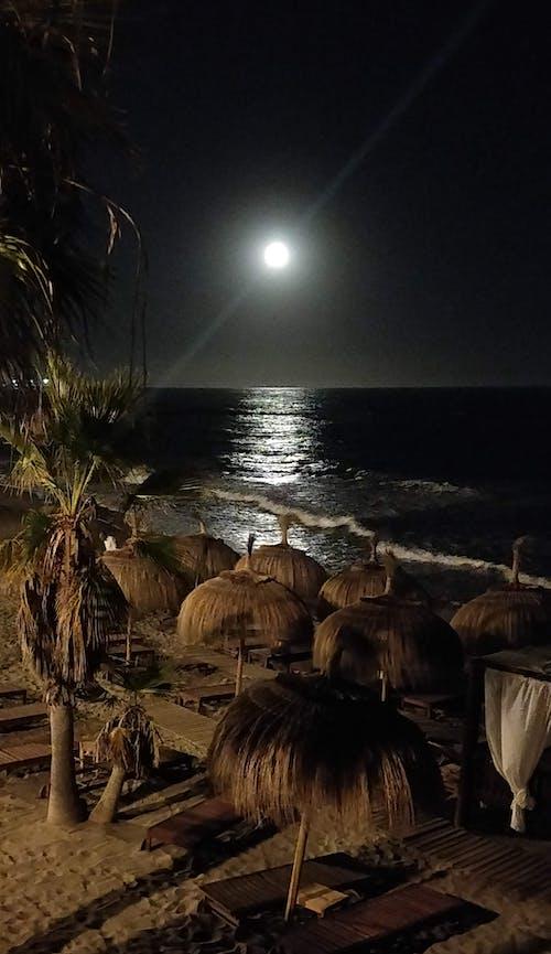 Gratis stockfoto met beachlife, maan, maanlanding, marbella