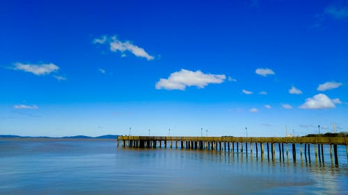 Free stock photo of clouds, Guaiba, HD, pier