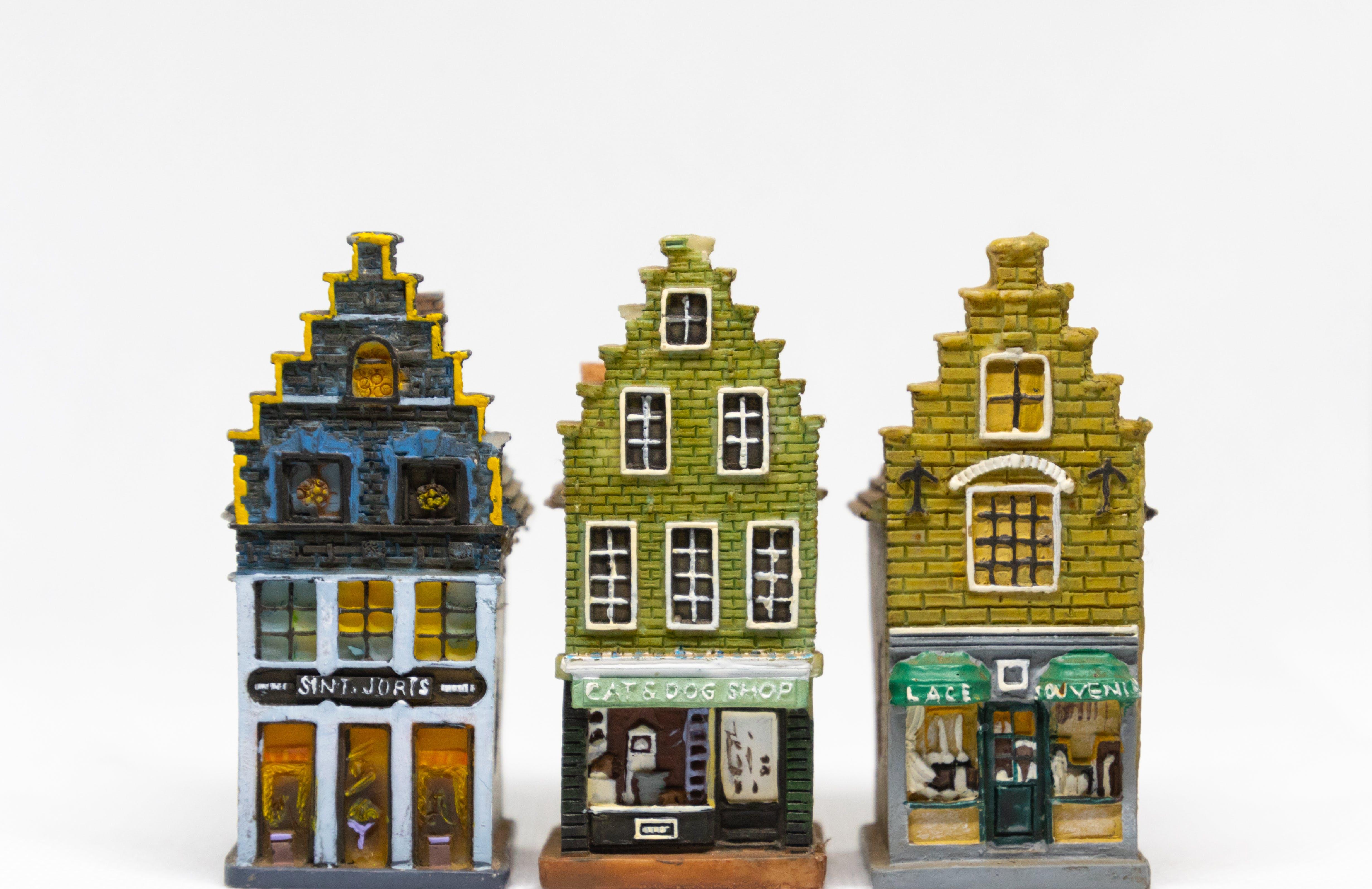 Free stock photo of people, village, house, windows
