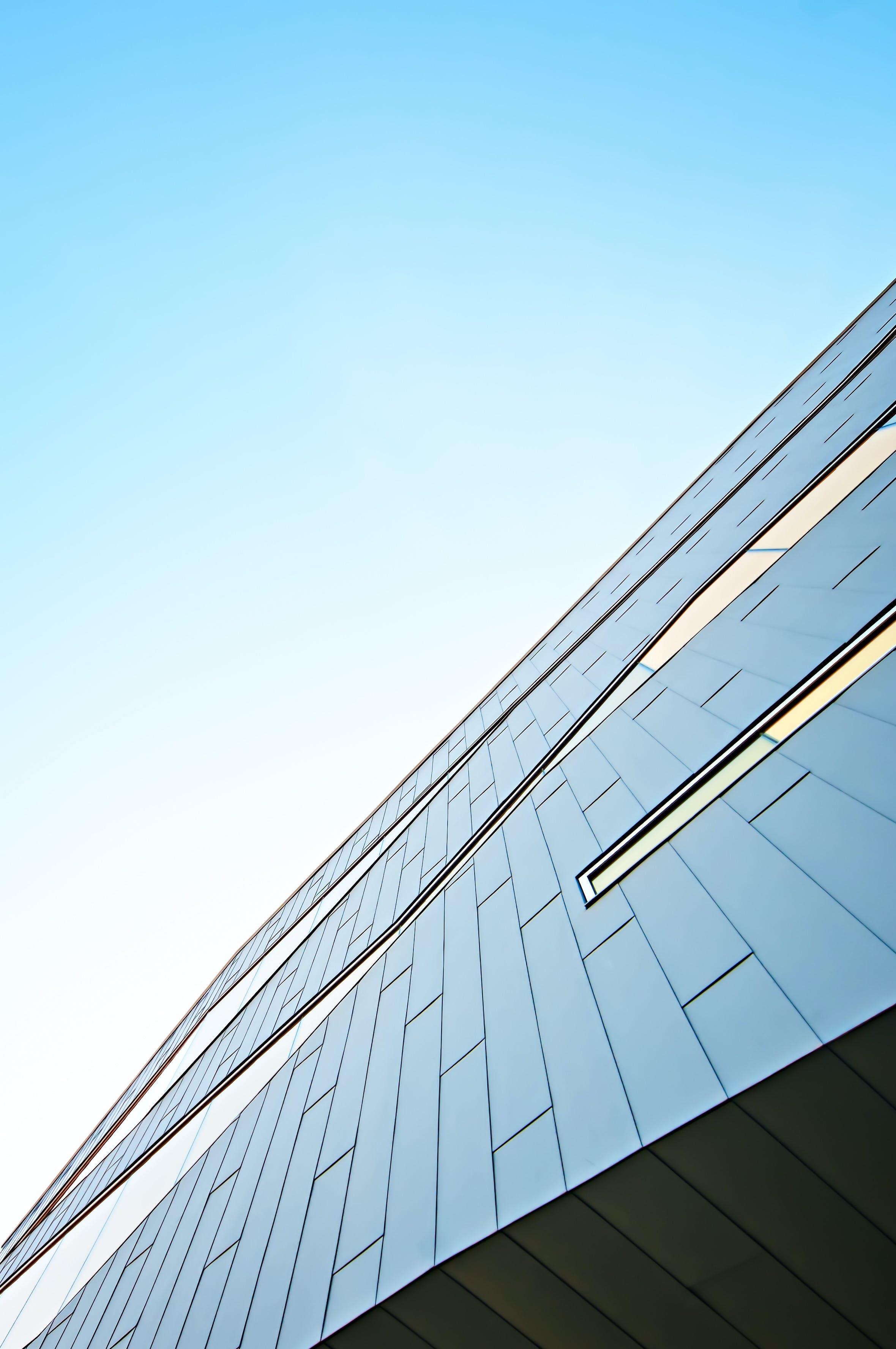 Kostenloses Stock Foto zu architektur, hochhaus, wolkenkratzer, perspektive