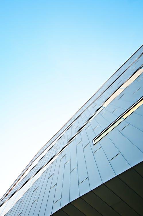 arquitetura, arranha-céu, artigos de vidro