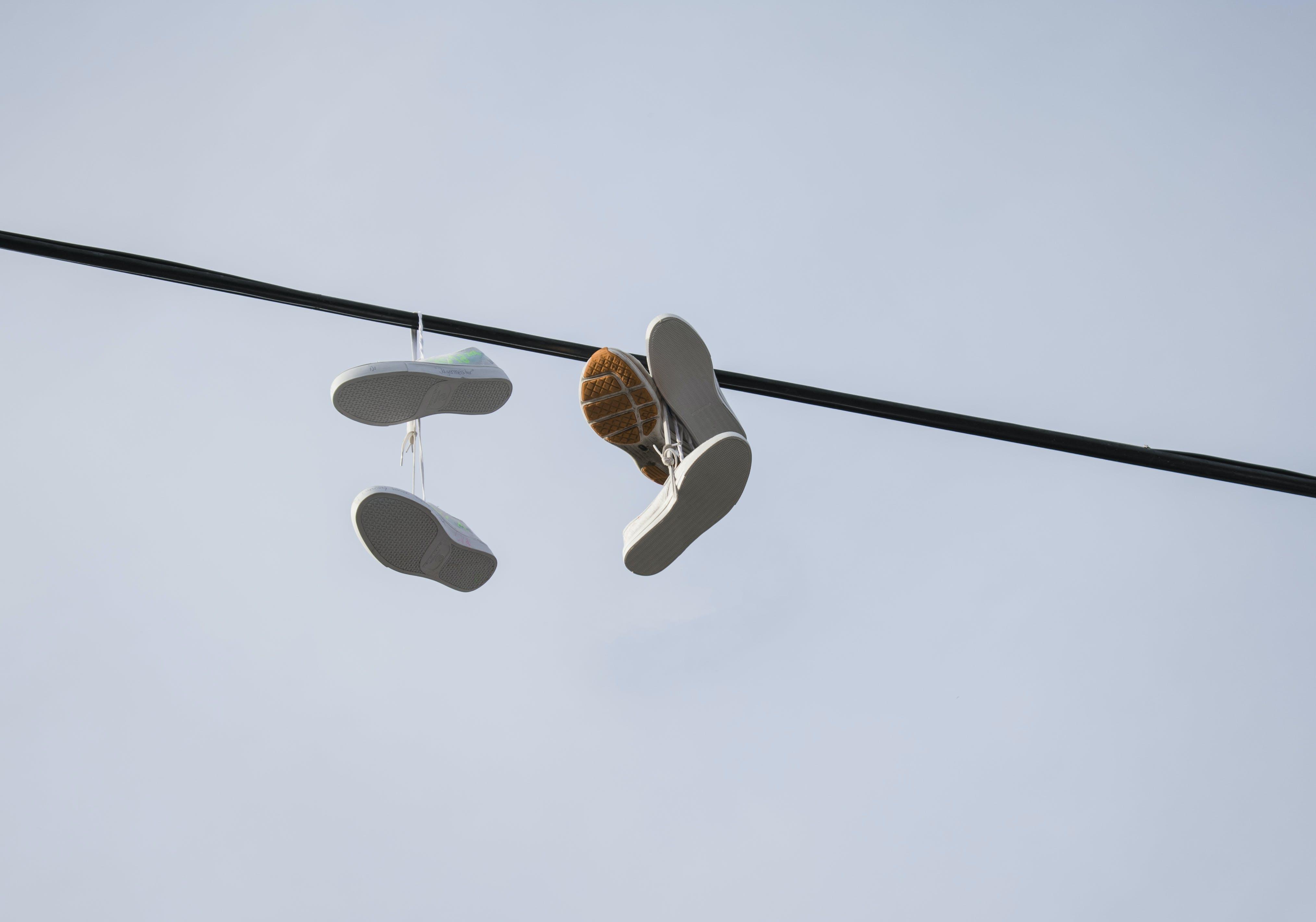 Foto profissional grátis de cabo, calçados, foto, luz do dia